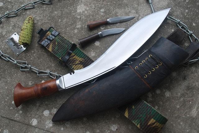 Historyczny nóż Gurkhów khukri MKII I W.Ś. NKH-GAEI-10