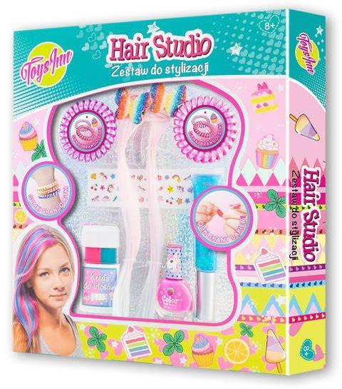Zestaw hair studio z pasemkami STN 6536 - Stnux