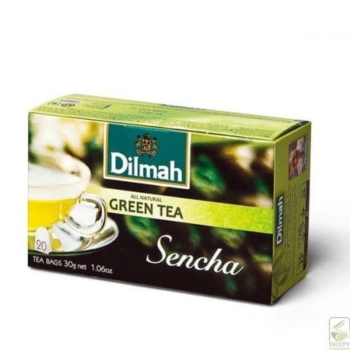 Dilmah Sencha zielona Ex20 z etykietą