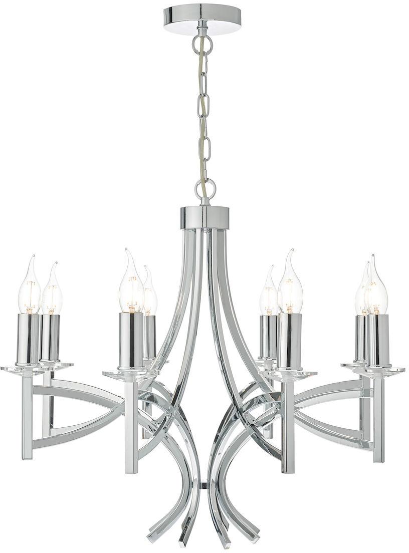 Lampa zwis Lyon 8 LYO0850 - Dar Lighting  SPRAWDŹ RABATY  5-10-15-20 % w koszyku