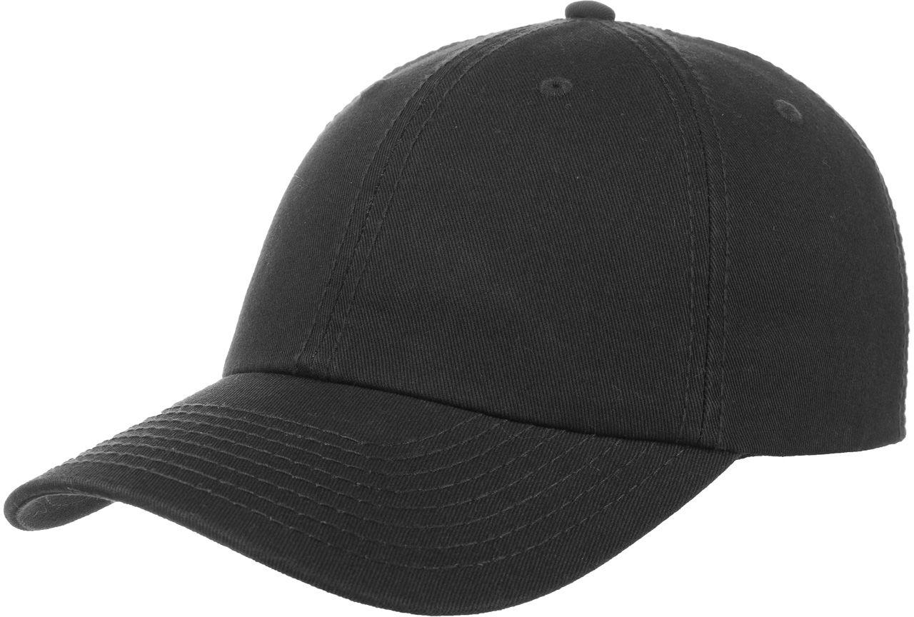 Czapka Dad Hat Strapback, czarny, One Size