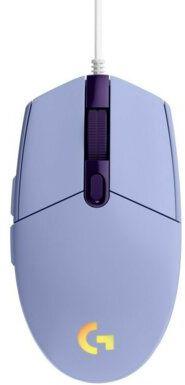 Mysz przewodowa LOGITECH G102 Lightsync Fioletowy. > DARMOWA DOSTAWA ODBIÓR W 29 MIN DOGODNE RATY
