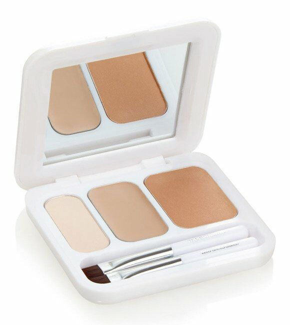 Models Own Now Brow! Eyebrow Kit - Cień do brwi 07 Light Brown