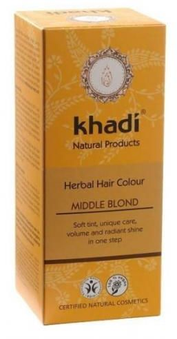 Henna ŚREDNI BLOND Khadi
