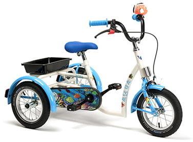 Rower inwalidzki dziecięcy Aqua
