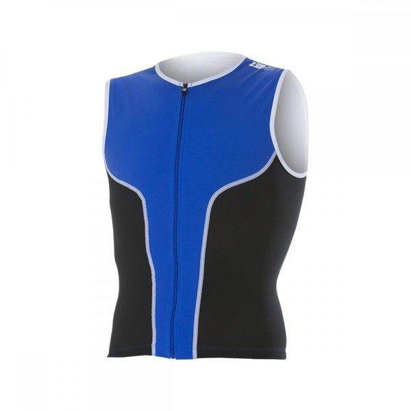 ZEROD Koszulka triathlonowa iSinglet Męska Niebieska