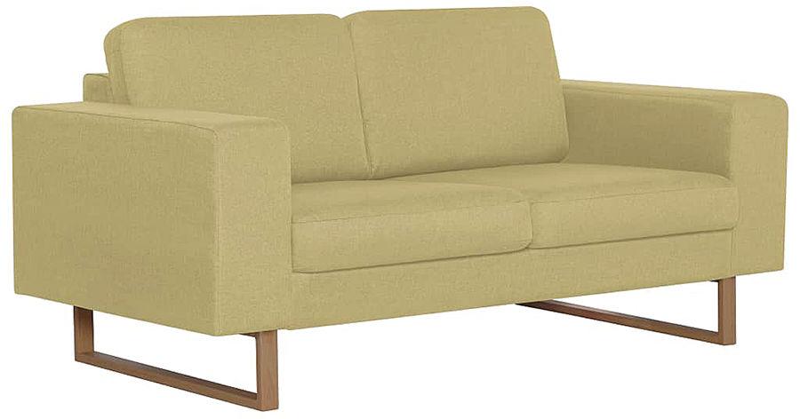 Elegancka dwuosobowa sofa Williams 2X - zielona