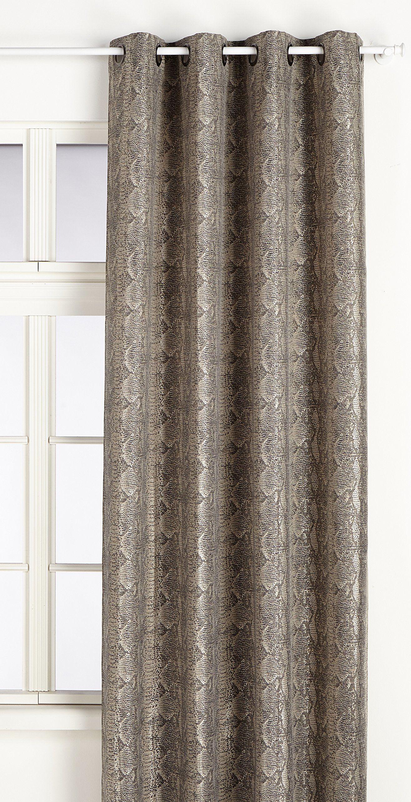 Home Maison 09340-8-AL poduszka z żakardowym motywem, 140 x 260 cm, szara