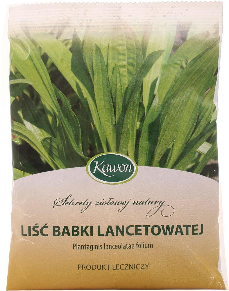 Liść babki lancetowatej - Kawon - 50 g