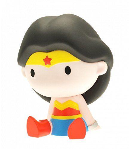 Funbox Media 80066 DC Comics Wonder Woman skarbonka, wielokolorowa