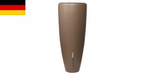 Zbiornik na deszczówkę 2w1 - szarobrązowy z donicą