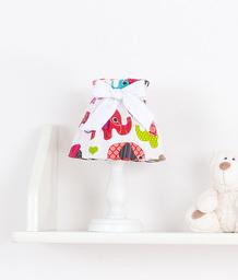 MAMO-TATO Lampka Nocna Słoniaki różowe