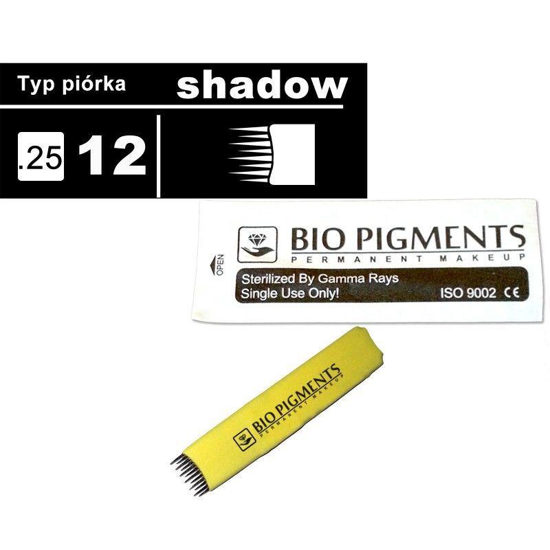 Piórko Shadow 12/025 do microbladingu, tatuażu - SHADOW 12