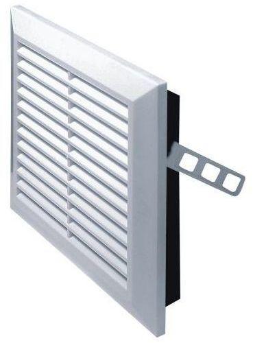 Kratka wentylacyjna 14 X 14cm biała AWENTA
