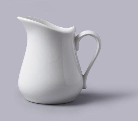 Dzbanek do mleka (300 ml) - porcelanowy
