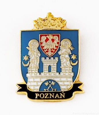 Herb Poznań - magnes