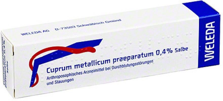 Cuprum Metallicum Praep. 0,4% Salbe