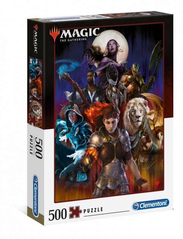 Puzzle 500 elementów Magic The Gathering Collection