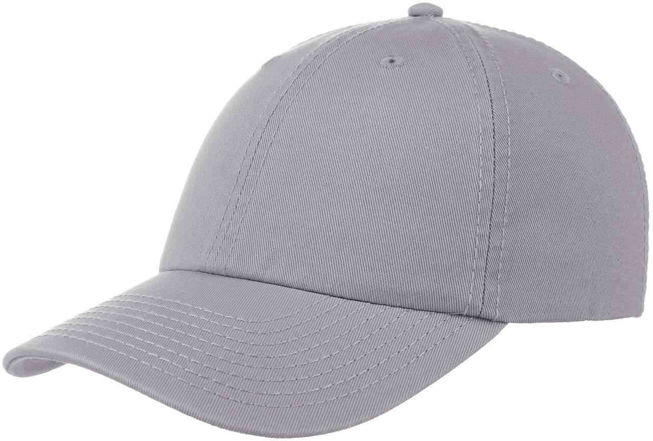 Czapka Dad Hat Strapback, jasnoszary, One Size