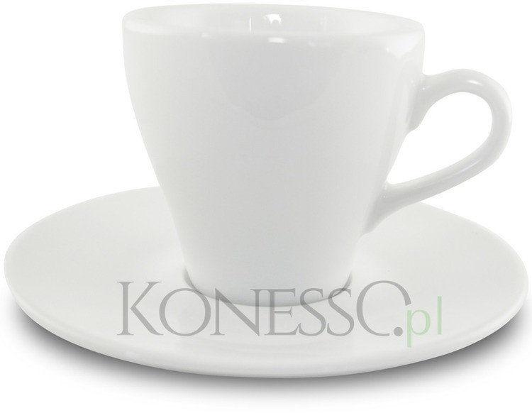 Filiżanka ze spodkiem do kawy lub herbaty - Paula 290ml