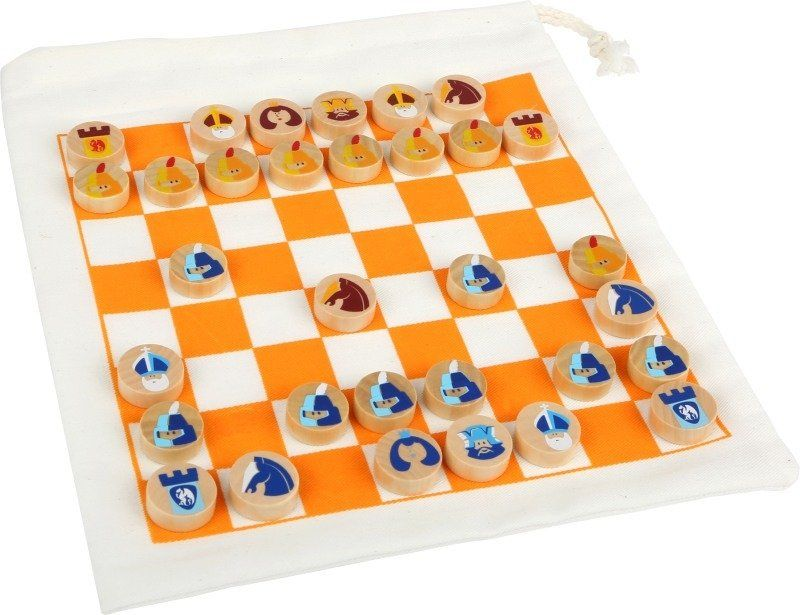 Szachy w podróży 12021-Small Foot, gry planszowe dla dzieci