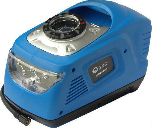 Mini kompresor z latarką 12/230V 100W