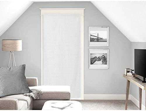 Soleil d''Ocre Noemie zasłona z woalu, poliester, biała, 90 x 200 cm
