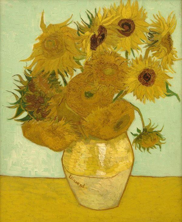 Słoneczniki van gogh - plakat wymiar do wyboru: 50x70 cm