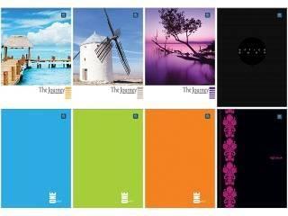 Blok biurowy A4 kratka 50 kartek, losowy wzór okładki - X04563
