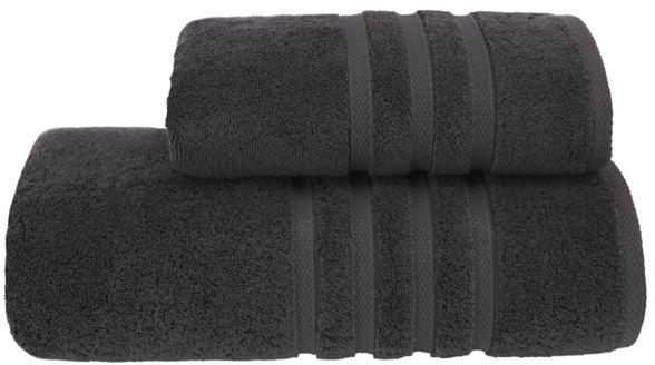 Ręcznik kąpielowy BOHEME 85x150 cm Czarny Antracyt