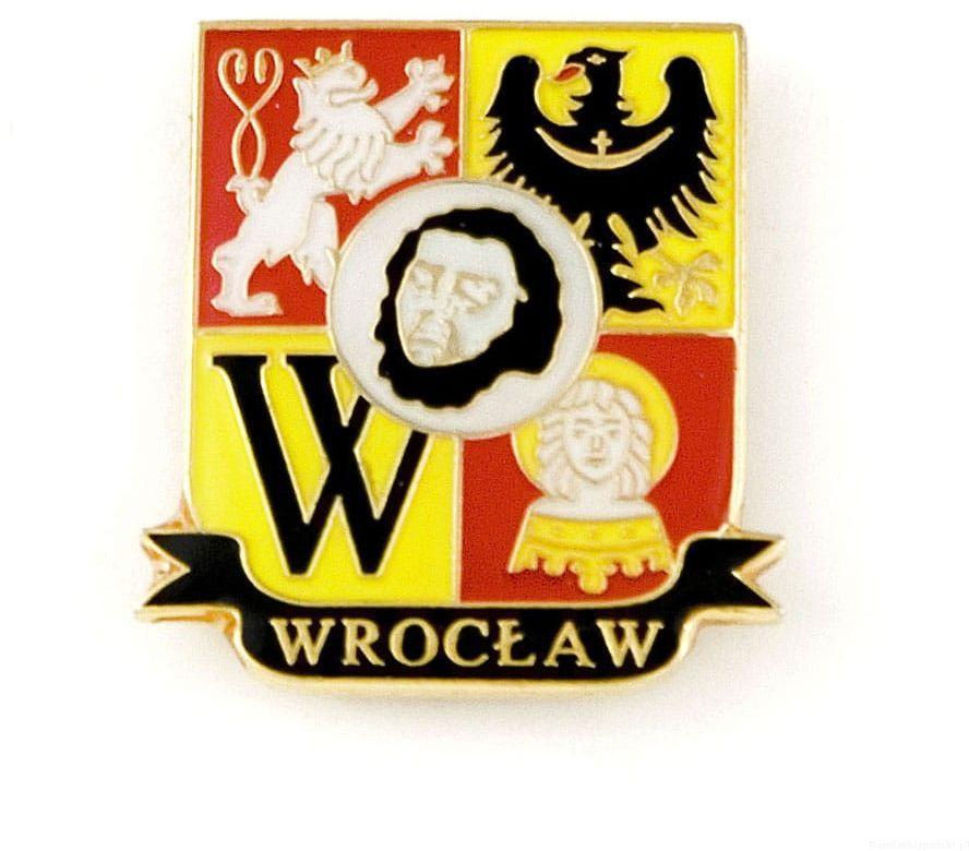 Herb Wrocław - przypinka