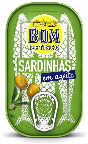 Sardynki w oliwie z oliwek 120g Bom Petisco