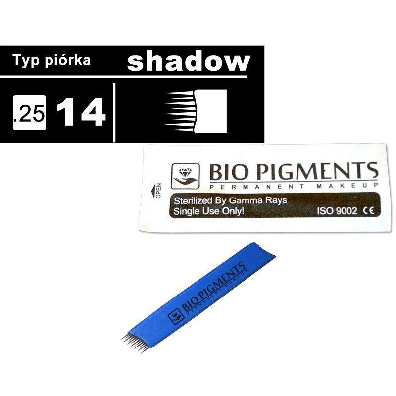 Piórko Shadow 14/025 do microbladingu, tatuażu - SHADOW 14