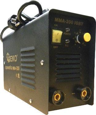Spawarka Inwertorowa IGBT-200A MMA GEKO