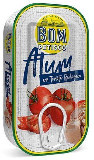 Stek z tuńczyka w pomidorach BIO 120g Bom Petisco