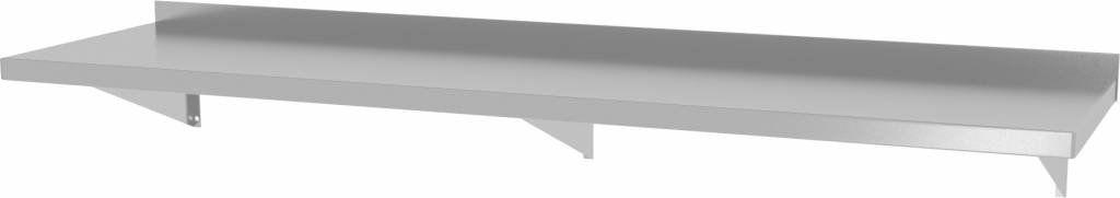 Półka wisząca na konsolach z trzema konsolami szer: 1600 - 2000mm gł: 300mm