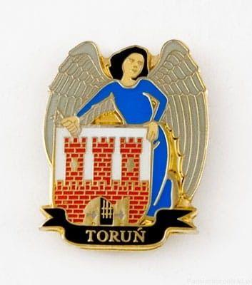 Herb Toruń - przypinka