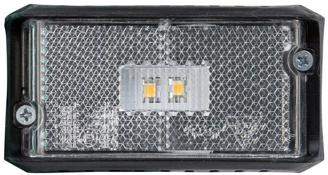 Lampa obrysowa LED biała DPT15 z kablem