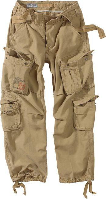 Surplus Spodnie Airborne Vintage Khaki