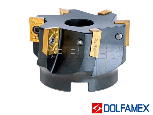 Frez składany nasadzany 63 mm walcowo-czołowy 6-ostrzowy - 220.699 - 063 - DOLFAMEX