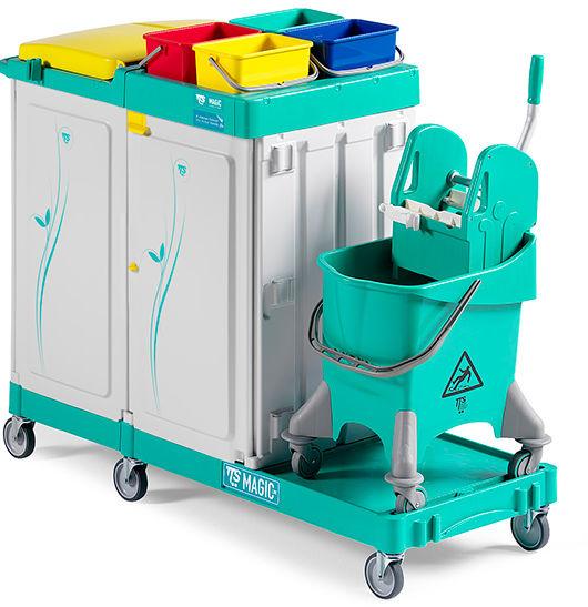 TTS Magic Line 380 Elegance - wózek serwisowy do sprzątania