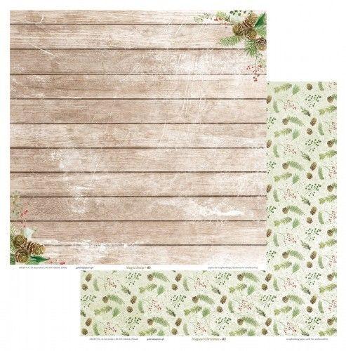 Galeria Papieru Papier scrapbookingowy Magia Świąt 03 30,5x30,5 opakowanie 5 ark 208913