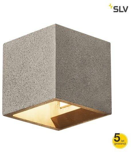 Kinkiet SOLID CUBE QT14 1000911 - Spotline / SLV  Kupon w koszyku - Autoryzowany sprzedawca
