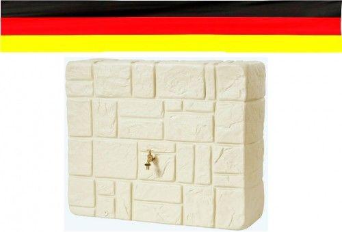 Zbiornik na deszczówkę 300 L przyścienny Mauer piaskowy