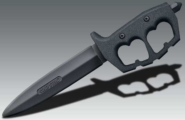 Nóż Treningowy Cold Steel Trench Knife Double Edge Trainer