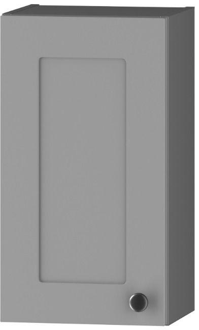 Szafka łazienkowa SENJA W30 P/L szary mat