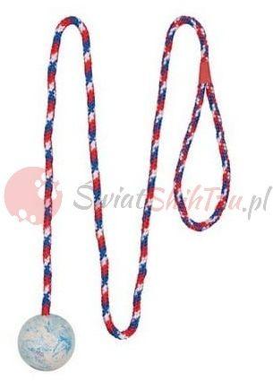 Trixie Piłka gumowa na sznurku 5/100cm