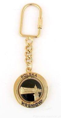 Brelok - Kraków. Sukiennice(złoty)