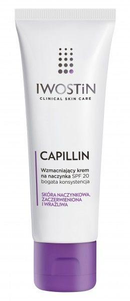 Iwostin Capillin Wzmacniający krem na naczynka Bogata konsystencja SPF 20, 40 ml