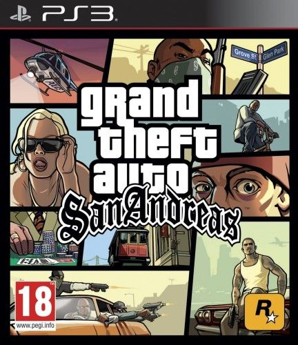 GTA San Andreas PS 3